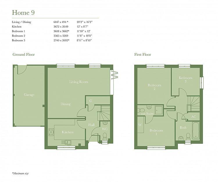 Paddock Apartments: The Paddock, Paddock Way, Alresford SO24 9PN